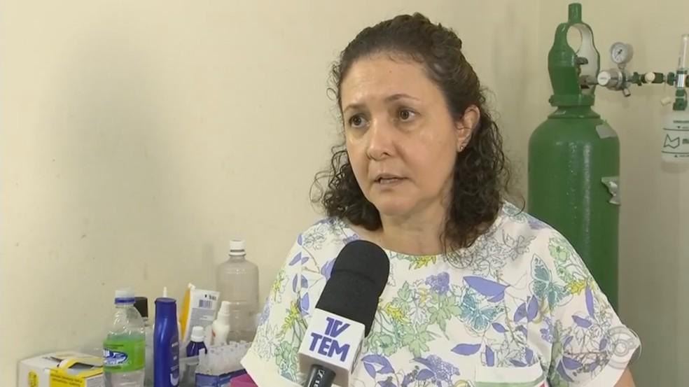 Maysa Santarém conta que marido ensinou o código morse para conseguir se comunicar com a família em Tietê (Foto: Reprodução/TV TEM)