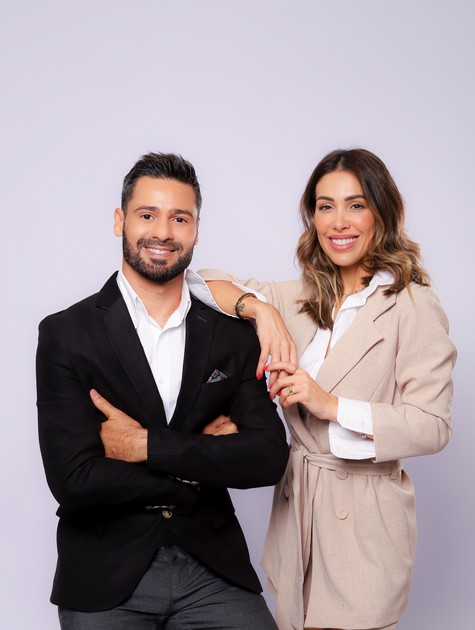 Bella Falconi e Guilherme Moreira (Foto: Nicole Medeiros)