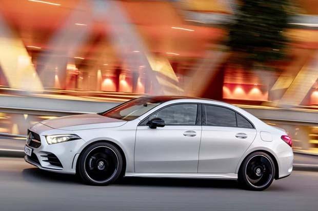 Mercedes-Benz Classe A sedã 2019 (Foto: divulgação)
