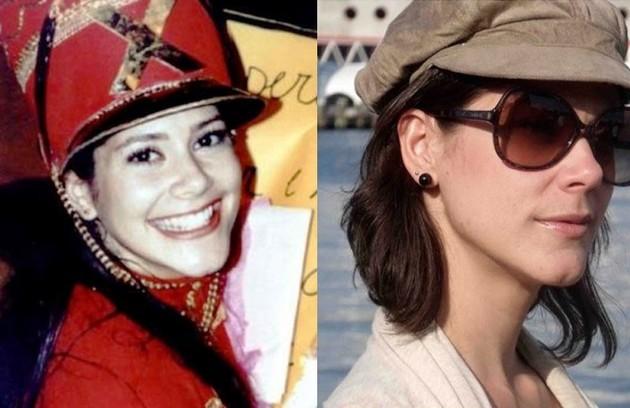 Vanessa, a Flashdance, estudou jornalismo e segue na profissão até hoje (Foto: TV Globo / Reprodução Instagram)