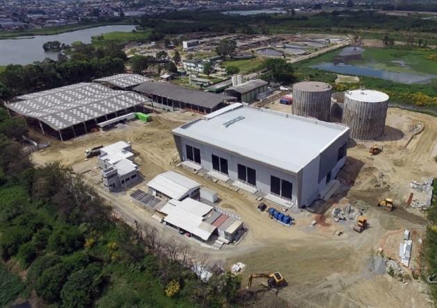 Usina de biogestão da CS Energia (Foto: Divulgação Agência de Notícias do Paraná)