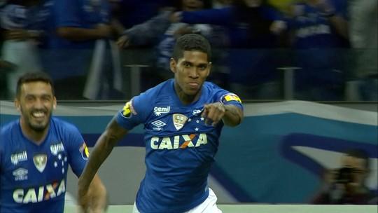Os gols de Cruzeiro 3 x 1 América-MG pela 13ª rodada do Brasileirão 2018