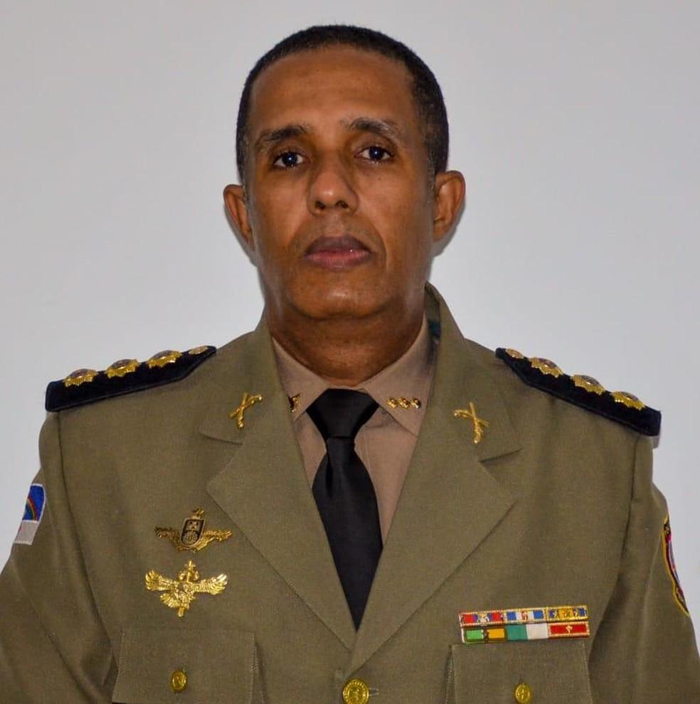 Coronel José Roberto Santana é o novo comandante da PM de Pernambuco — Foto: Reprodução/Redes sociais