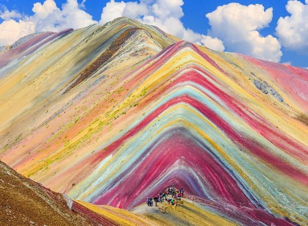 Montaña de Siete Colores, Peru (Foto: Trompe/ Reprodução)