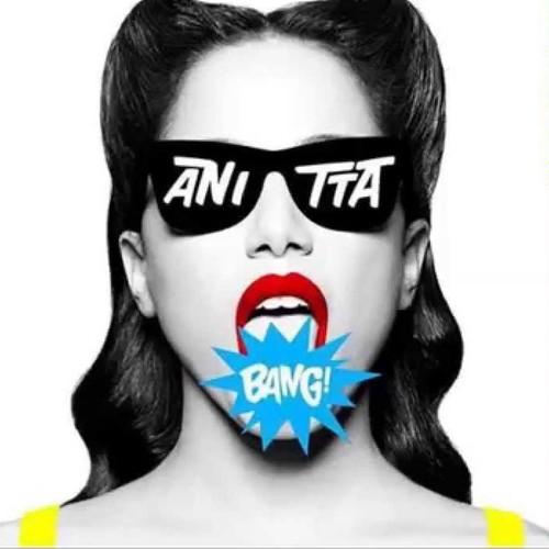 Capa do disco de Anitta, 'Bang'