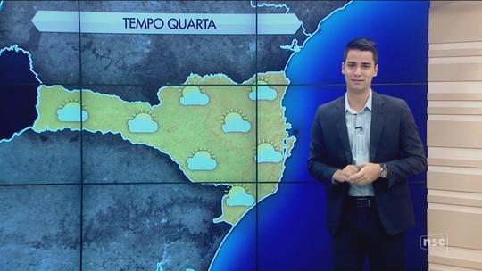 Com influência da massa de ar seco e frio, quarta-feira registra mínima de 0°C na Serra catarinense