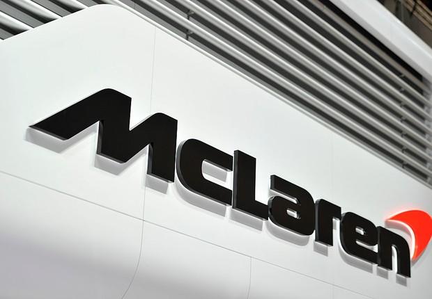Logo da McLaren (Foto: Harold Cunningham/Getty Images)