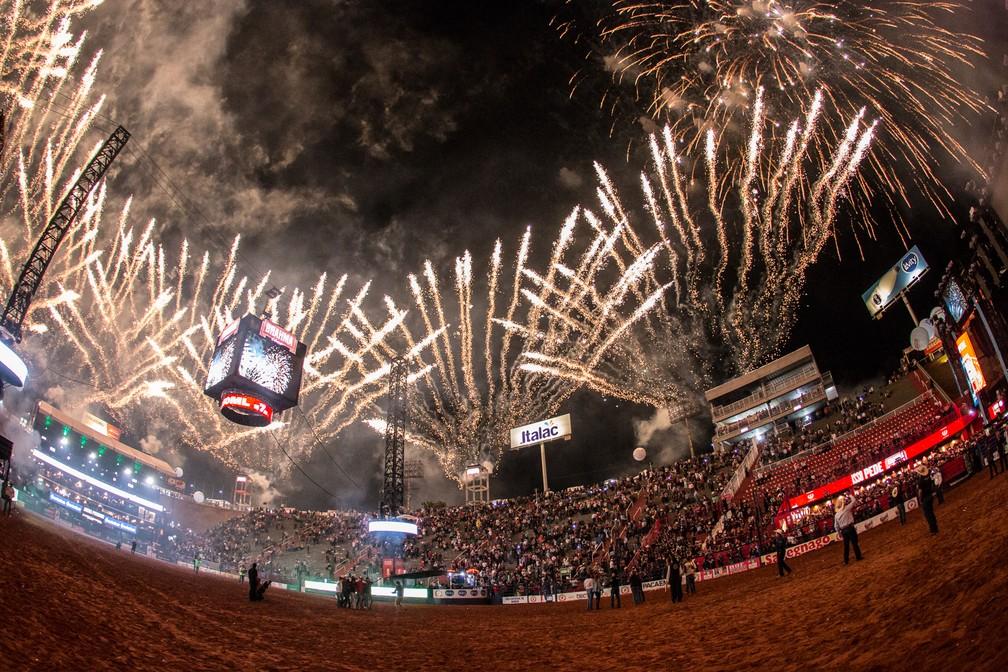 Arena da Festa do Peão de Barretos — Foto: Ricardo Nasi/G1