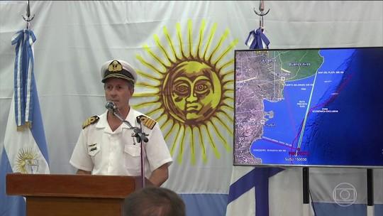 Argentina diz que incêndio em submarino não foi reportado como emergência