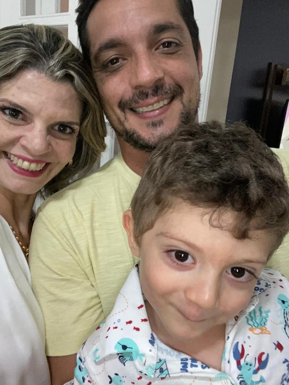 Lucca Cassiani nasceu de seis meses e teve a vida salva pelo Corpo de Bombeiros em Campinas (SP) — Foto: Arquivo pessoal