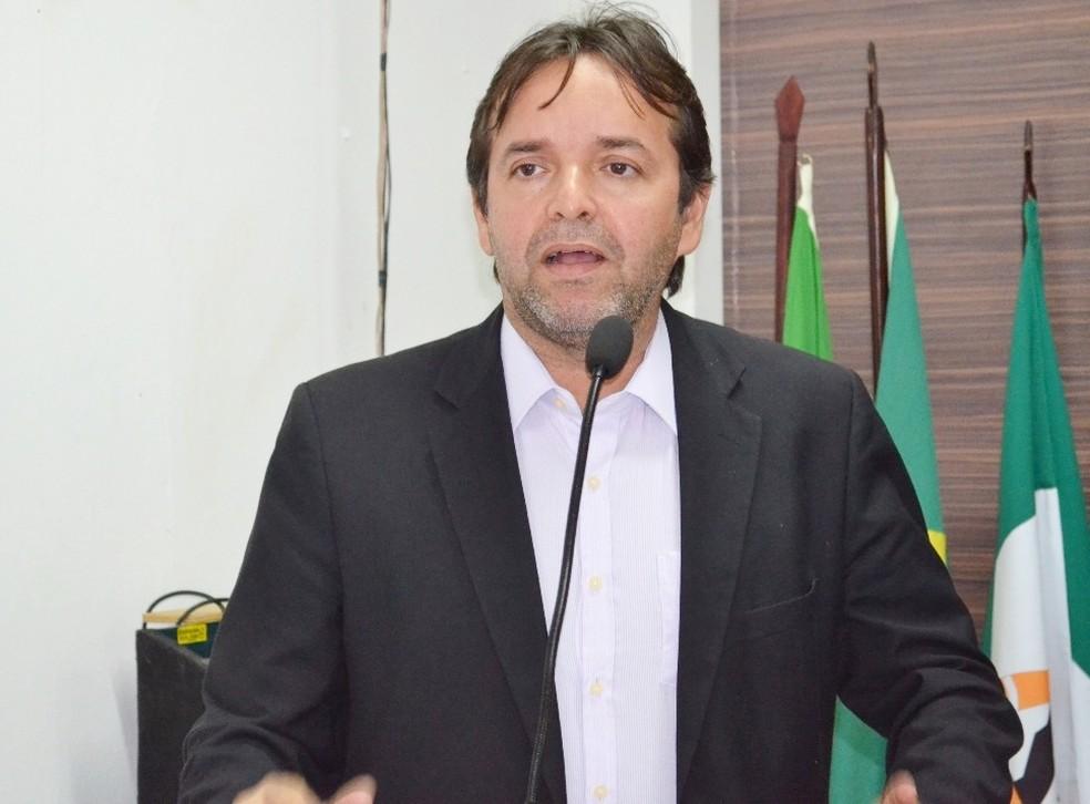 Vereador João Evangelista (PR), autor do projeto (Foto: Arquivo Pessoal)