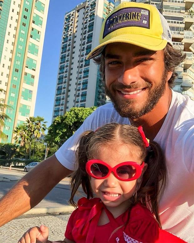 Maria Flor e Hugo Moura (Foto: Reprodução/Instagram)