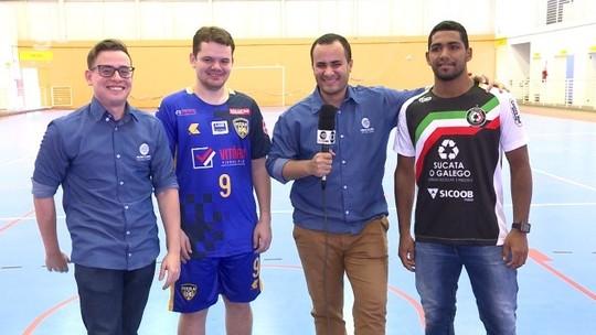 Final da Taça Clube de futsal: AABB e JES disputam o título. Assista ao pré-jogo da decisão
