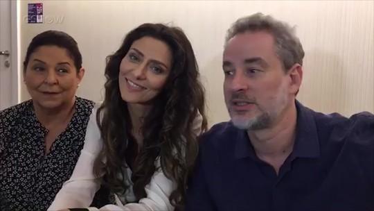 Dan Stulbach conta que se emociona nas gravações com Carol Duarte