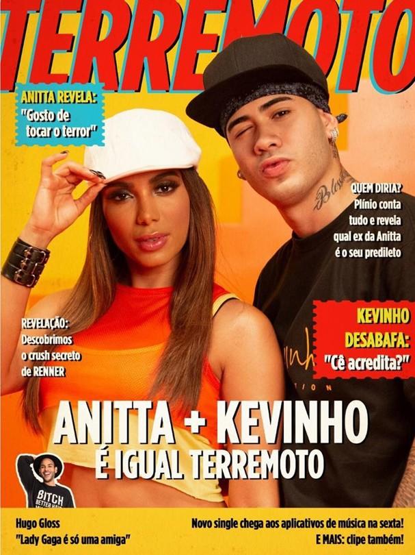 Anitta e Kevinho no novo clipe (Foto: Reprodução/Instagram )