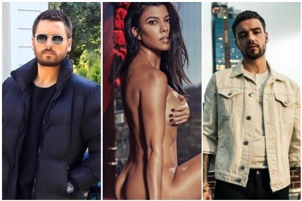 Scott Disick, Kourtney Kardashian, Liam Payne (Foto: Instagram)