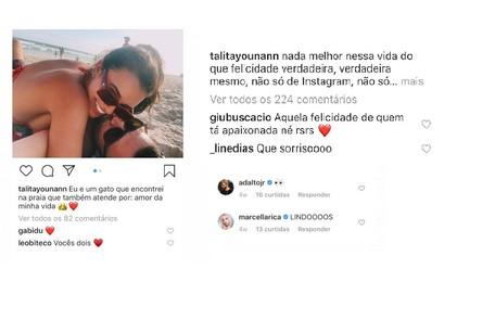 Comentários de Gabriela Duarte, Marcella Rica e mais famosos nas fotos da atriz Talita Younan