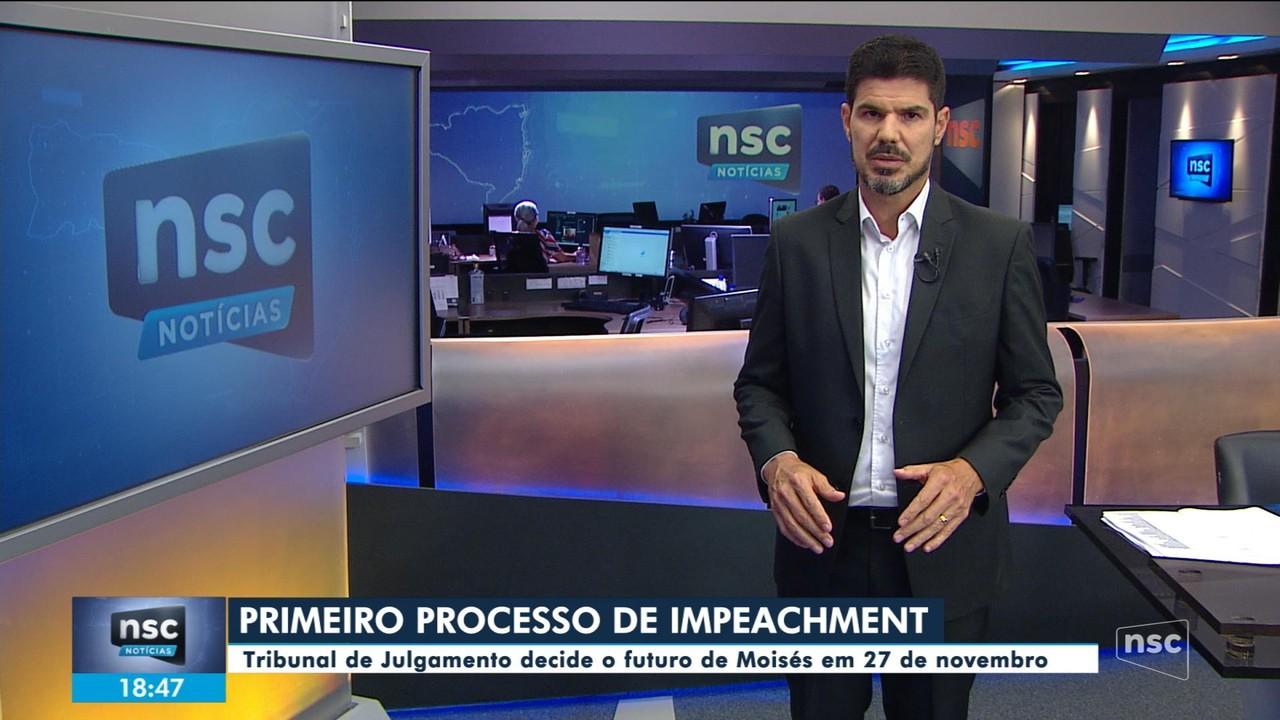 Tribunal de impeachment decide o futuro de Moisés em 27 de novembro