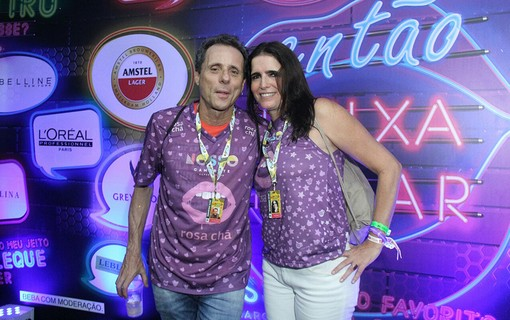 Tony Bellotto e Malu Mader