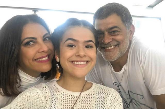 Thalita Rebouças, Maísa e Eduardo Moscovis  (Foto: Divulgação)