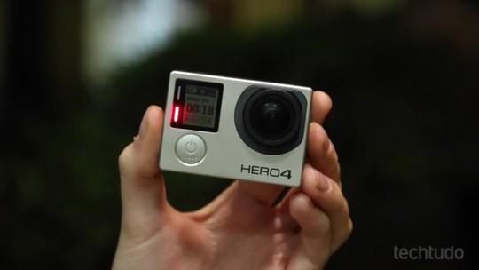 GoPro Hero4 Black e Silver ganham atualização e novos recursos para vídeos