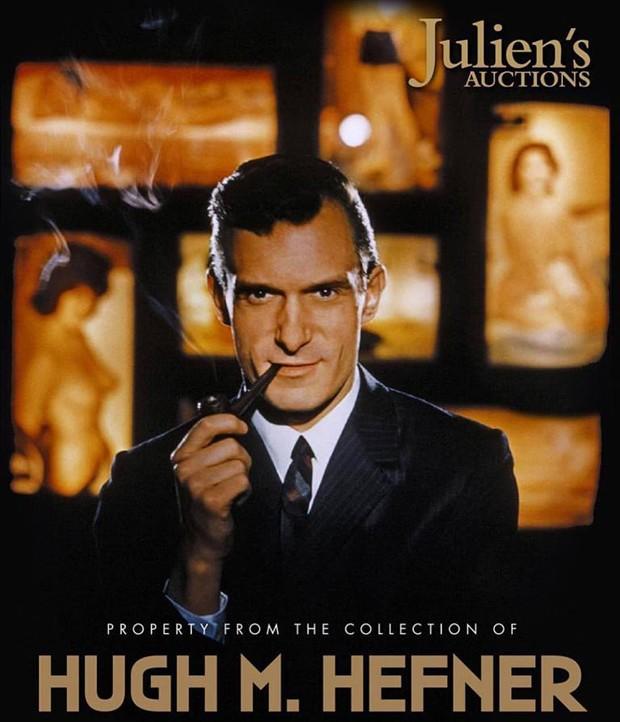 Itens pessoais de Hugh Hefner vão a leilão (Foto: Reprodução)