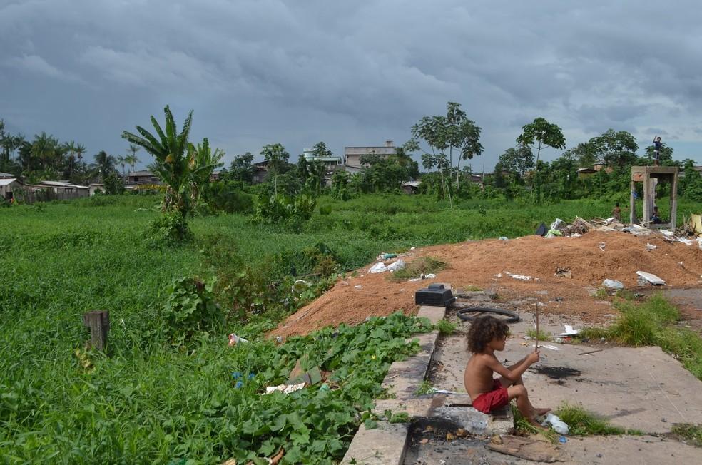 Número de potiguares em situação de extrema pobreza aumenta 1,8% em 2017 — Foto: Jorge Abreu/G1