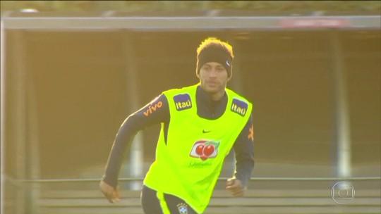 Com apenas 26 anos, Neymar já tem números expressivos pela Seleção