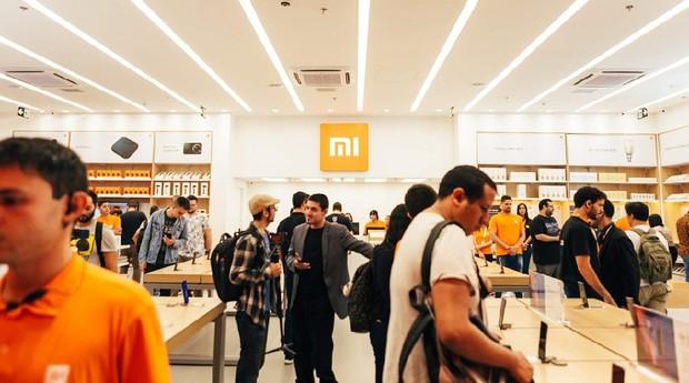 Loja da Xiaomi no Shopping Ibirapuera, em São Paulo (SP) (Foto: Divulgação)