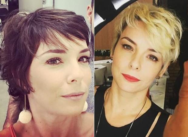 Regiane Alves: antes e depois (Foto: Reprodução/Instagram)