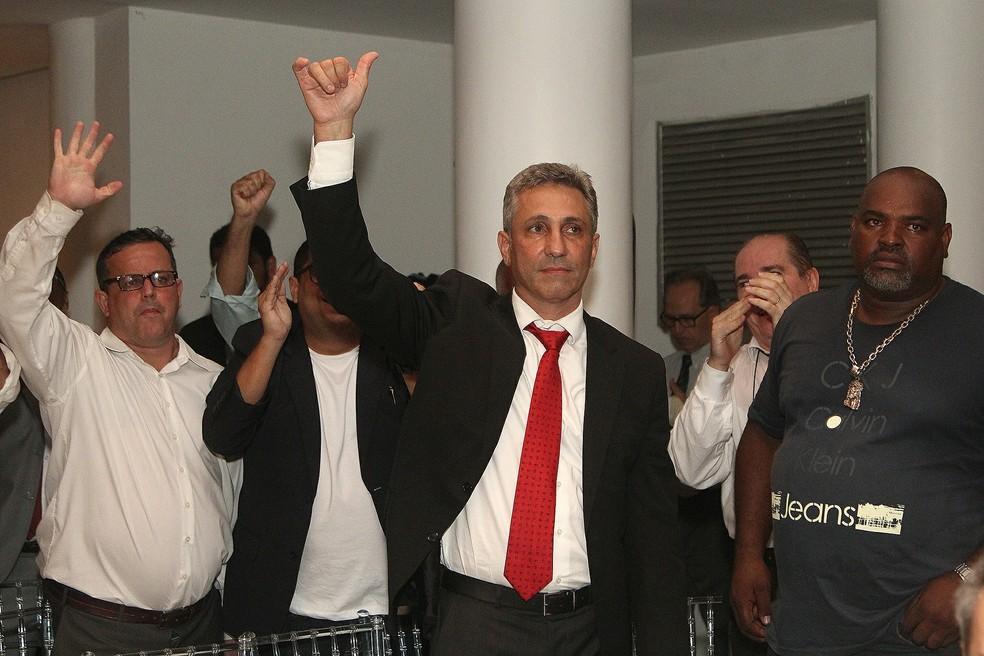 Alexandre Campello é o novo presidente do Vasco da Gama (Foto: Paulo Fernandes/Vasco.com.br)
