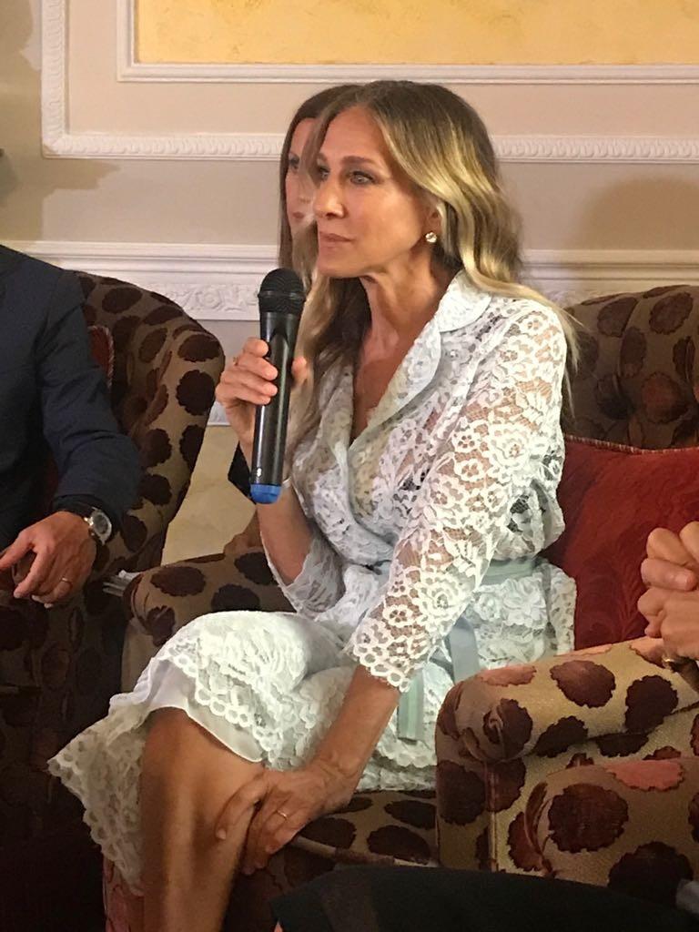 """""""Muitas feministas acham que a série não foi boa para o movimento, porque no final a Carrie ficou com o Big"""", diz Sarah (Foto: Laura Ancona Lopez)"""