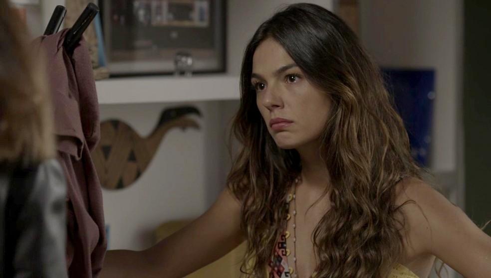 Rita fala tudo o que pensa para Joyce (Foto: TV Globo)