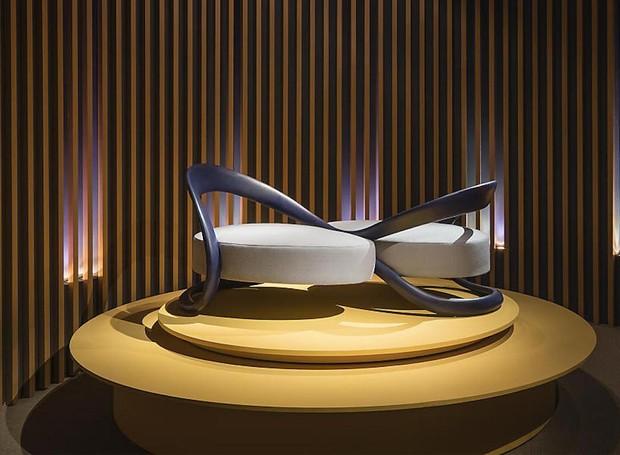 Namoradeira Ribbon Dance, do designer André Fu para a Louis Vuitton (Foto: Divulgação)