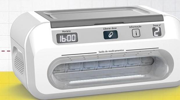 Máquina emite sons e luzes para alertar idoso (Foto: Divulgação )