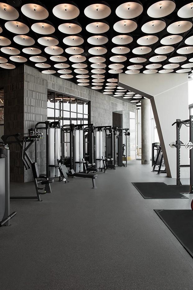 Esta academia é tão linda que dá até vontade de malhar (Foto: Divulgação)