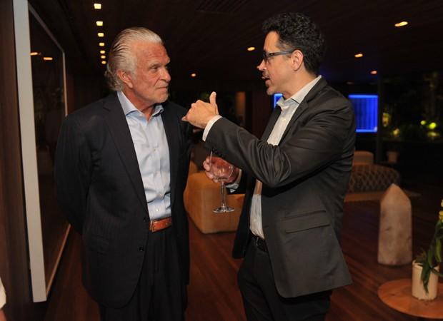Fernando Alterio e Sérgio Sá Leilão (Foto: Foto: Paulo Freitas/divulgação)