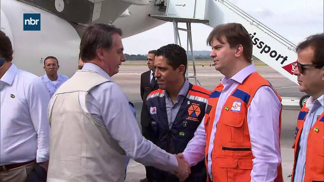 Bolsonaro chega a Belo Horizonte