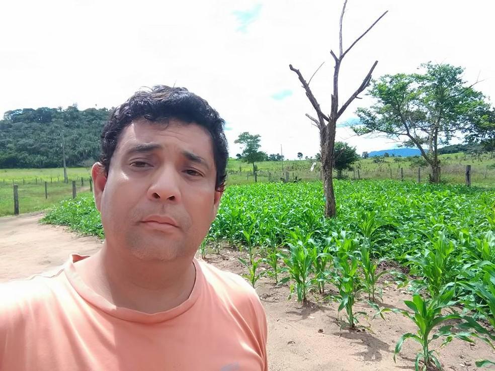 Conselheiro tutelar é morto a tiros em Rio Maria, no Pará. — Foto: Reprodução / Arquivo Pessoal