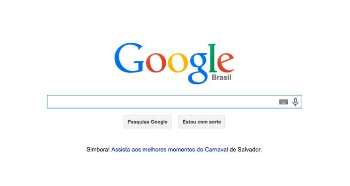 Google (Foto: Reprodução/André Sugai)