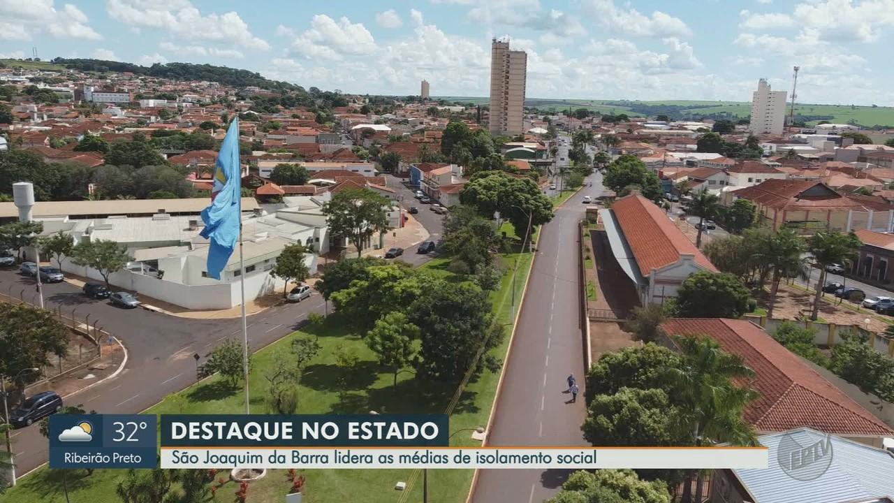 São Joaquim da Barra, SP, lidera as médias de isolamento social