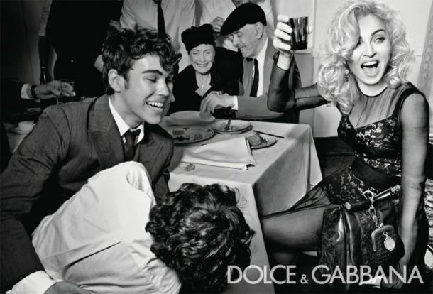 Madonna em campanha da Dolce & Gabbana em 2011 (Foto: Divulgação)