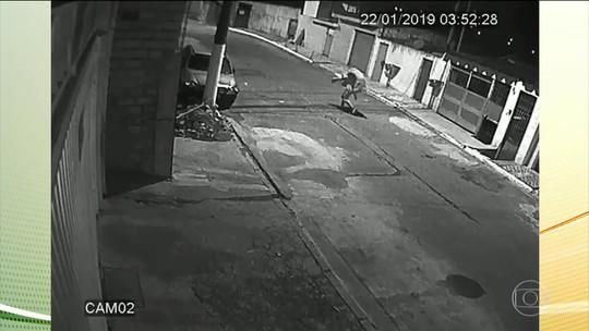 Imagens de sistema de segurança levam polícia a suspeito de crime em São Paulo