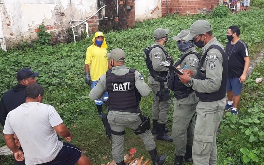 Homem e mulher são mortos a tiros em Itamaracá, no Grande Recife