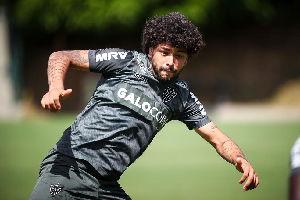 Corinthians quer a contratação de Luan, do Atlético-MG — Foto: Bruno Cantini / Atlético