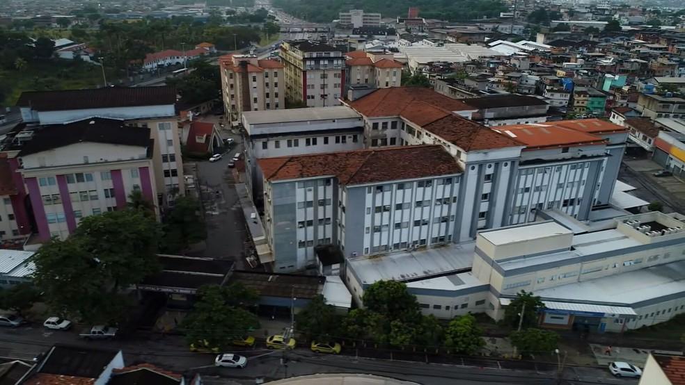 Hospital Federal de Bonsucesso — Foto: Reprodução/TV Globo