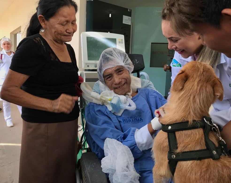 Após resultado positivo, equipe planeja tratamento alternativos a pacientes internados no HGR (Foto: Inaê Brandão/G1 RR)