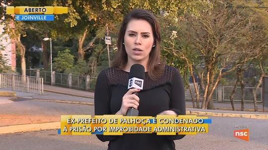 Ex-prefeito de Palhoça é condenado a cinco anos e oito meses de prisão