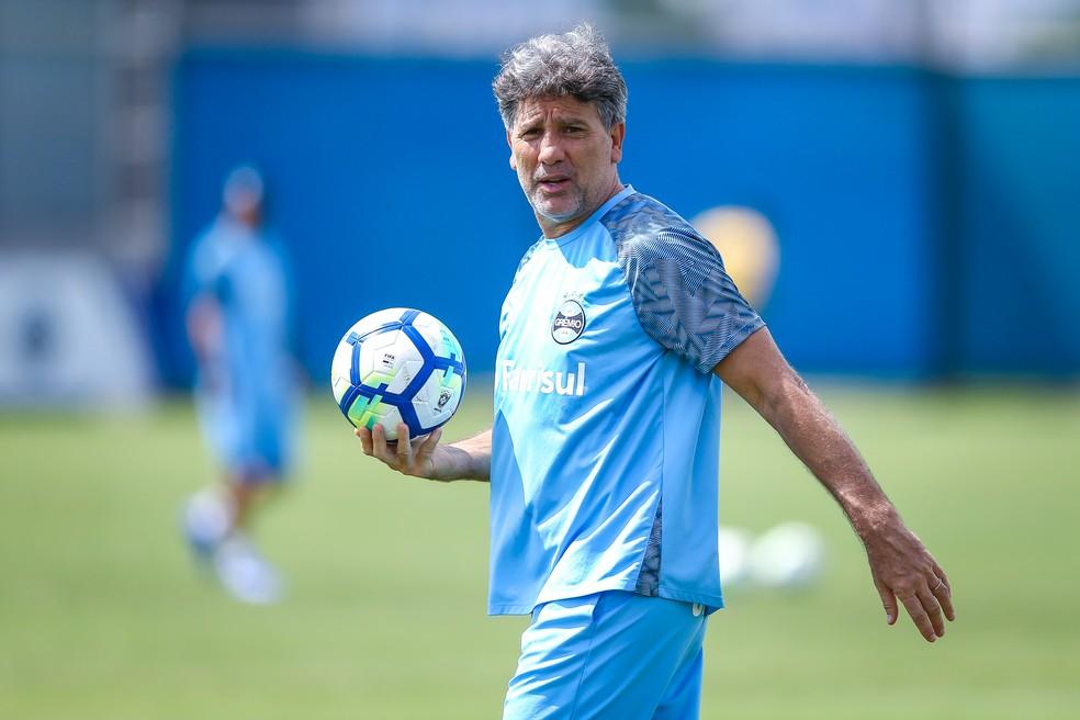 Renato Gaúcho, técnico do Grêmio — Foto: Lucas Uebel/Grêmio/Divulgação