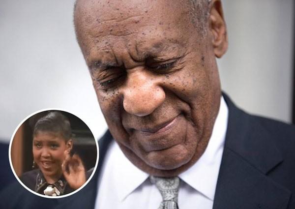 O humorista Bill Cosby e sua filha Ensa (Foto: Getty Images/Reprodução)